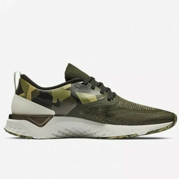 New Odyssey React 2 Flyknit Camo At9975